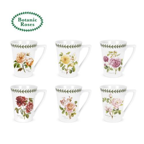 【Portmeirion】280ML倒三角馬克杯 Botanic Roses 植物園玫瑰系列 (共六款可選)