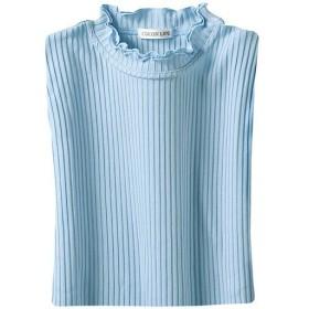 【レディース】 シルック長袖プルオーバー ■カラー:サックス ■サイズ:LL,3L,M-L