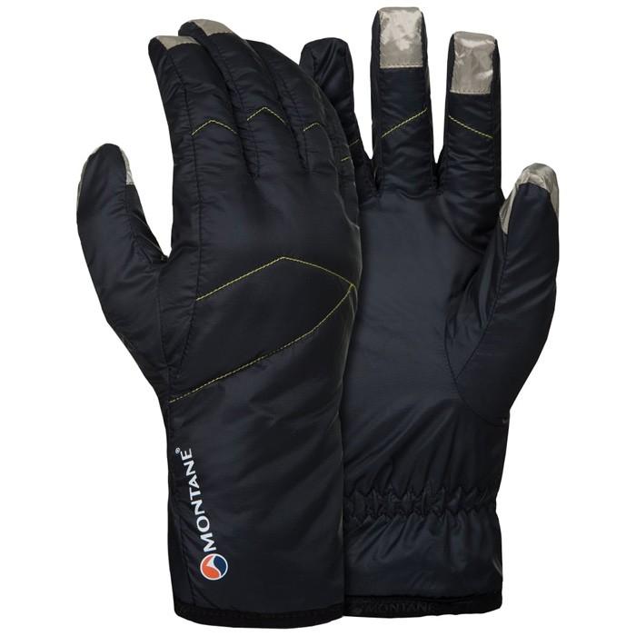 【Montane 英國】Prism Glove 保暖手套 保暖觸控手套 旅遊賞雪 冬季保暖 男款 黑色 (GPRGL)