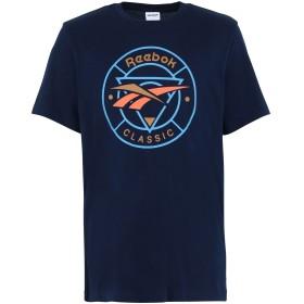 《セール開催中》REEBOK メンズ T シャツ ブルー S コットン 100% CL F TRAIL TEE