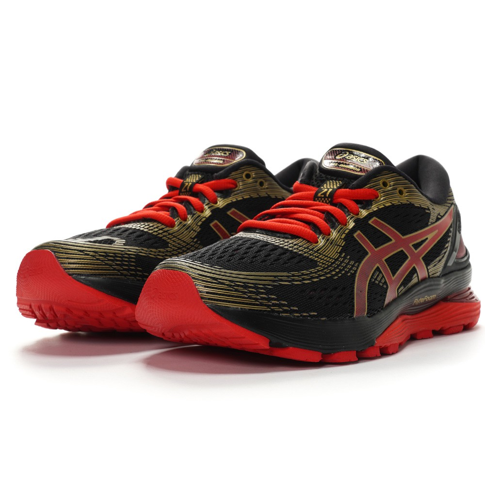 ASICS GEL-NIMBUS 21 女款 緩衝 運動 跑步 慢跑鞋 1012A235-001