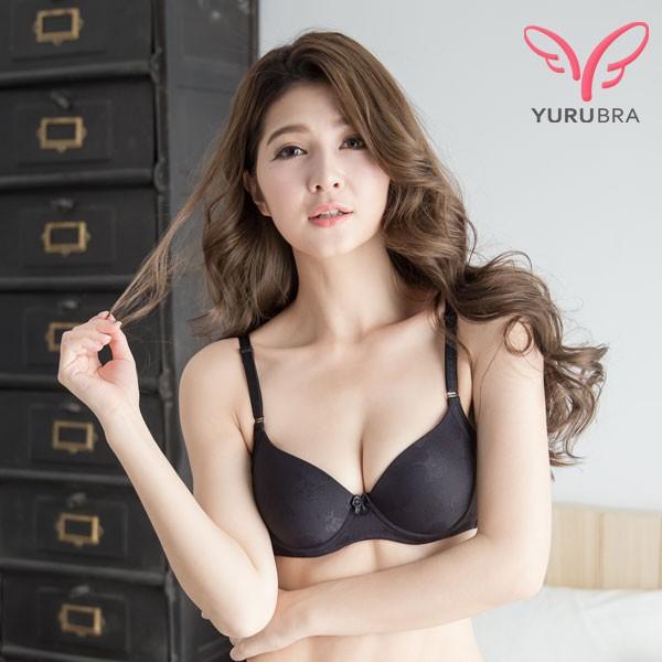玉如內衣 QQ糖內衣 軟鋼圈 無痕 少女 服貼 白襯衫可搭 B罩 台灣製 0252黑