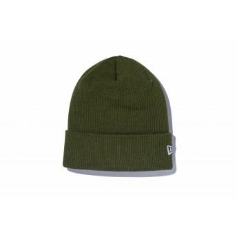 NEW ERA ニューエラ ベーシック カフニット アーミーグリーン ホワイトフラッグ ニット帽 ニットキャップ ニット 帽子 メンズ レディース ワンサイズ 11120507 NEWERA