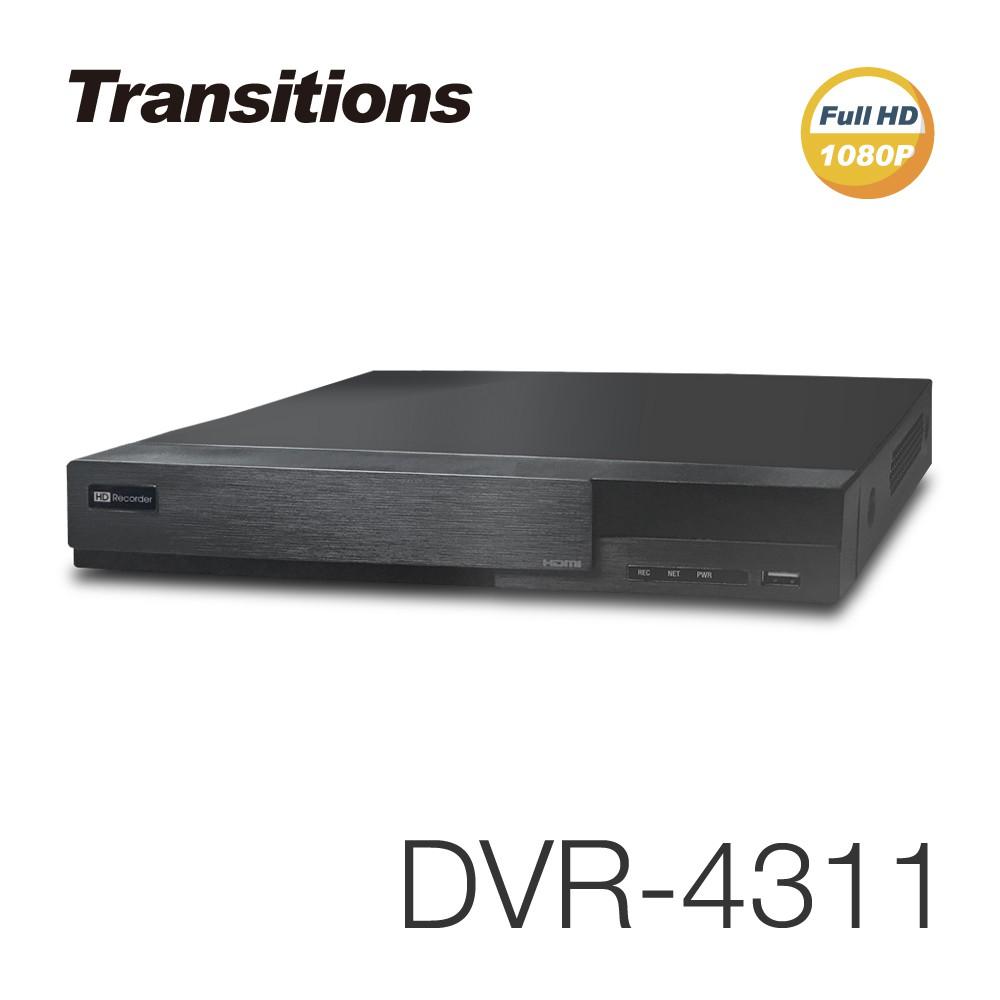 【凱騰】全視線 DVR-4311 4路 H.264 1080P HDMI 台灣製造 混合式監視監控錄影主機