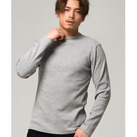 シルバーバレット CavariAネックが選べるスパンテレコ長袖Tシャツ メンズ グレー系1 48(XL) 【SILVER BULLET】