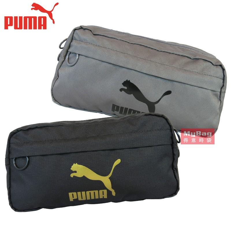 經典款PUMA腰包撞色LOGO亮眼可當腰包、斜背包、側被包,休閒百搭,一包多用!品牌 PUMA 型號 076646材質 100%聚脂纖維尺寸 高15 * 寬27 * 厚8 cm內部介紹 1.前層有*1