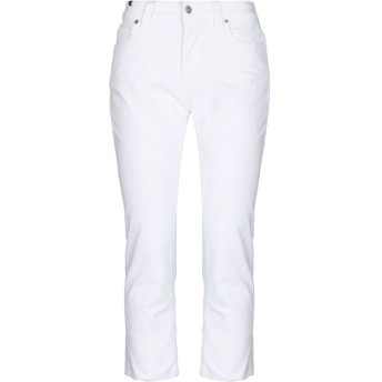 《セール開催中》ATELIER NOTIFY レディース パンツ ホワイト 31 コットン 98% / ポリウレタン 2%