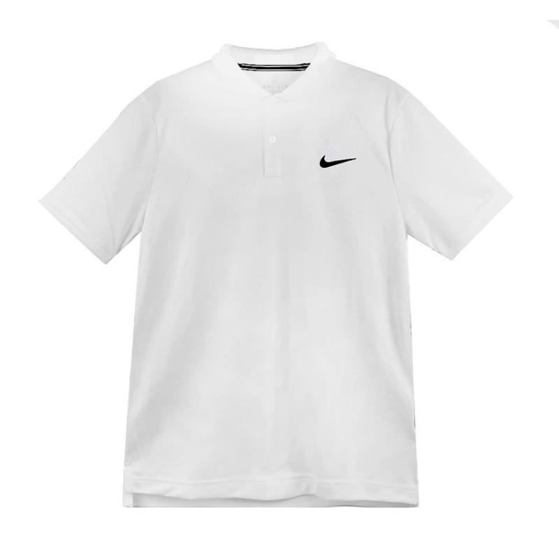 [Nike] 男款透氣運動Polo衫 白色 939138100《曼哈頓運動休閒館》