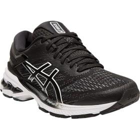 [アシックス] シューズ スニーカー GEL-Kayano 26 Running Shoe Black/Whit レディース [並行輸入品]