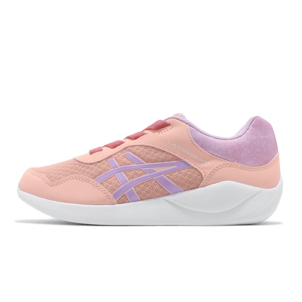 Asics 慢跑鞋 Lazerbeam GA 粉橘 紫 女鞋 運動鞋 1154A034-700 亞瑟士 【ACS】