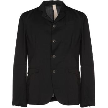《セール開催中》MESSAGERIE メンズ テーラードジャケット ブラック 48 バージンウール 100%