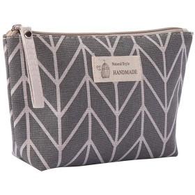 Poonikuuトラベルポーチ バスルームポーチ 化粧品収納袋 旅行メイクバッグ 洗面用具入れ 小物収納 旅行出張アウトドア レディース