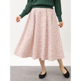【6,000円(税込)以上のお買物で全国送料無料。】冬の花言葉のあるスカート