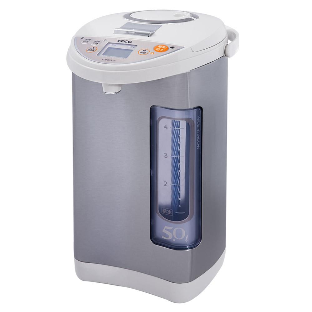 TECO東元   5L五段溫控調乳熱水瓶   YD5003CB