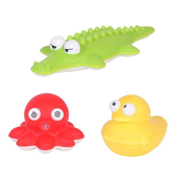 韓國 sillymann 100%鉑金矽膠洗澡玩具(3款可選)【麗兒采家】