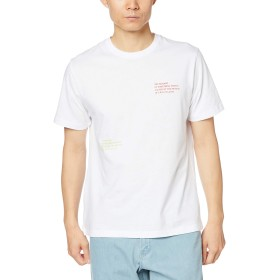 [ウィゴー] WEGO 2ピース ロゴ T シャツ 半袖 L ホワイト メンズ