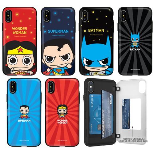 DC 超人 蝙蝠俠 手機殼│側開卡夾│LG G7 G8 V40 V50 V50s G8X│z9109