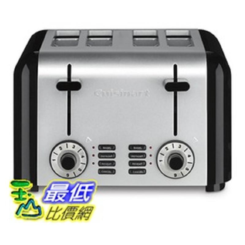 Cuisinart 1250Watts 4 Slice Toaster 烤麵包機烤土司機 CPT 340