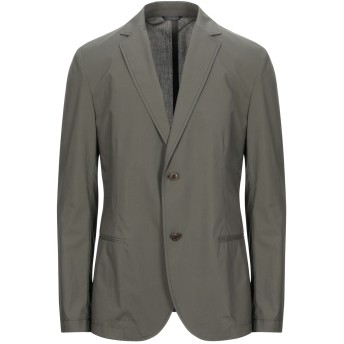 《セール開催中》DANIELE ALESSANDRINI メンズ テーラードジャケット ミリタリーグリーン 46 コットン 100%