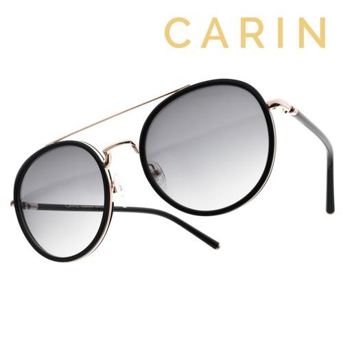 CARIN 太陽眼鏡 ROMY C1 秀智代言 復古圓框款 - 金橘眼鏡