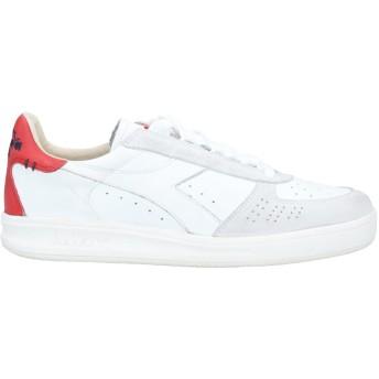 《セール開催中》DIADORA HERITAGE メンズ スニーカー&テニスシューズ(ローカット) ホワイト 8 革