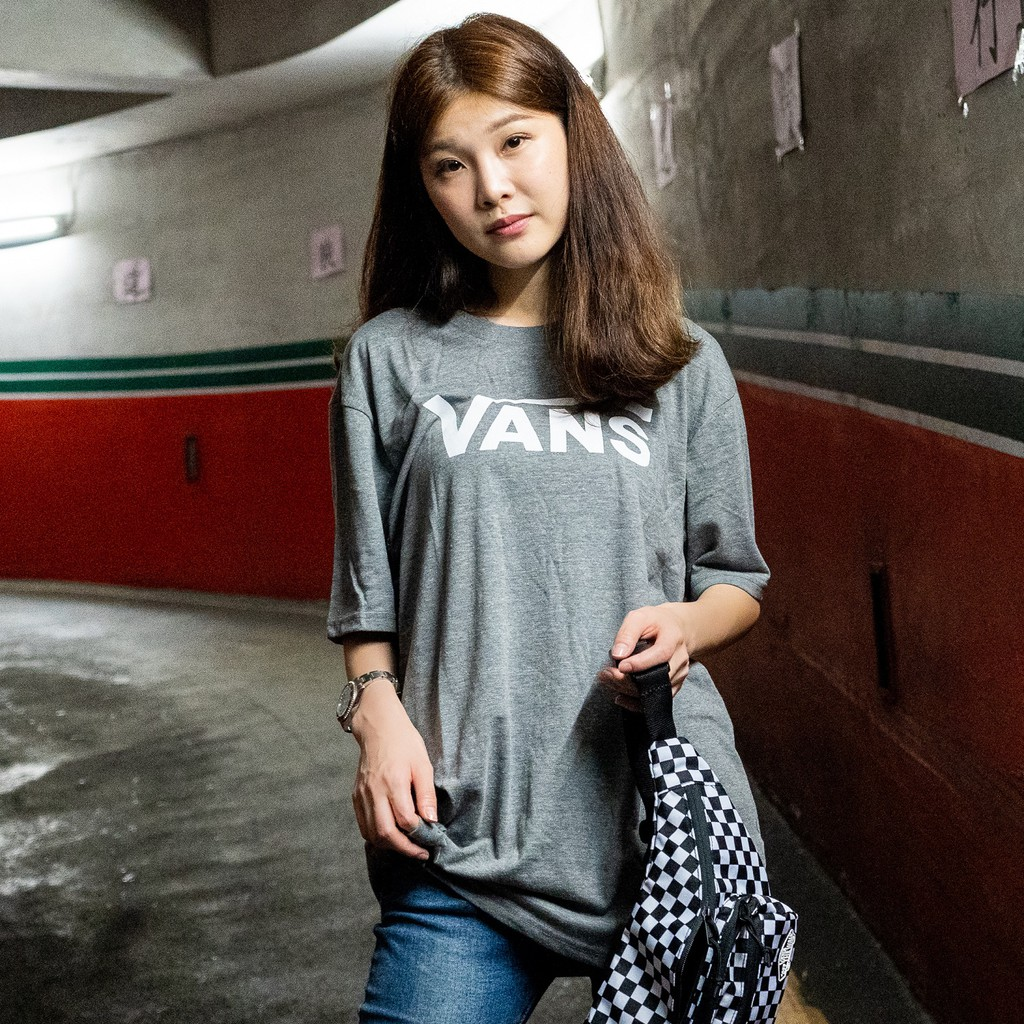 VANS 男女 CLASSIC HEATHER TEE 短T 灰【A-KAY0】【VN0000UMATH】