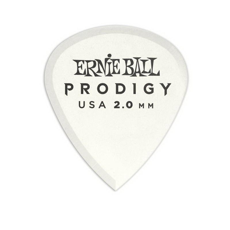 Ernie Ball 9203 Prodigy Mini 2.00mm 白色 吉他彈片 Pick[唐尼樂器]