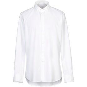 《セール開催中》GLANSHIRT メンズ シャツ ホワイト 42 コットン 100%