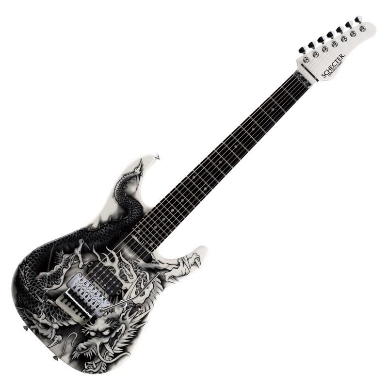 [分期免運] Schecter PA-ZK-T7 小林信一 簽名琴 超絕吉他地獄訓練所 七弦 大搖座 電吉他 唐尼樂器