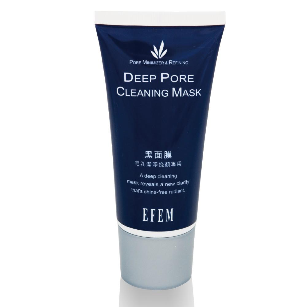 EFEM 黑面膜 毛孔潔淨挽臉專用 1 支(台灣製)
