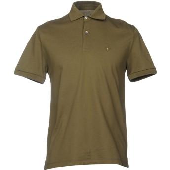 《セール開催中》BALLANTYNE メンズ ポロシャツ ミリタリーグリーン S コットン 100%