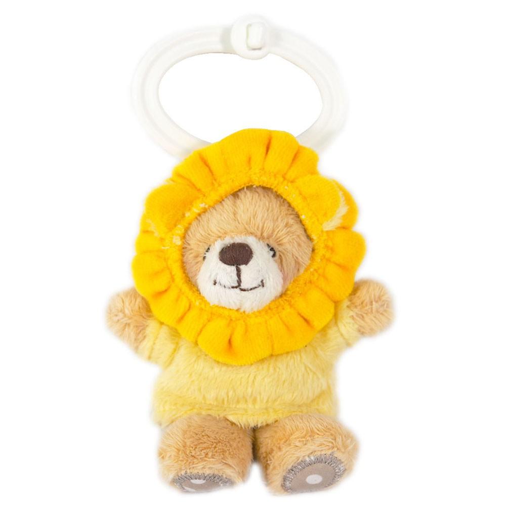 【Hallmark-ForeverFriends 絨毛-鑰匙圈系列】3.5吋/獅子熊鑰匙圈