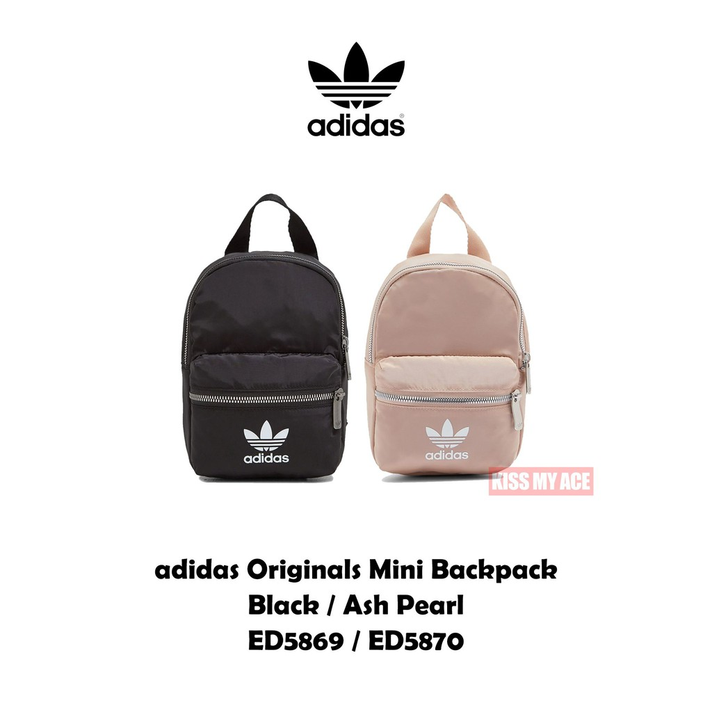 adidas Originals Mini Backpack ED5869 ED5870 黑白 玫瑰粉 後背包 小包