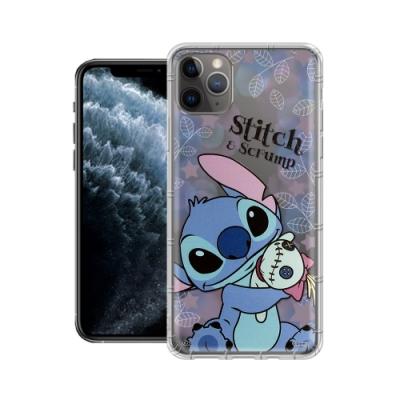 迪士尼授權正版 iPhone 11 Pro 5.8吋 繽紛空壓安全手機殼(史迪奇)