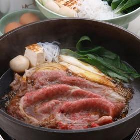 京都・「モリタ屋」京都産黒毛和牛モモすき焼き 精肉