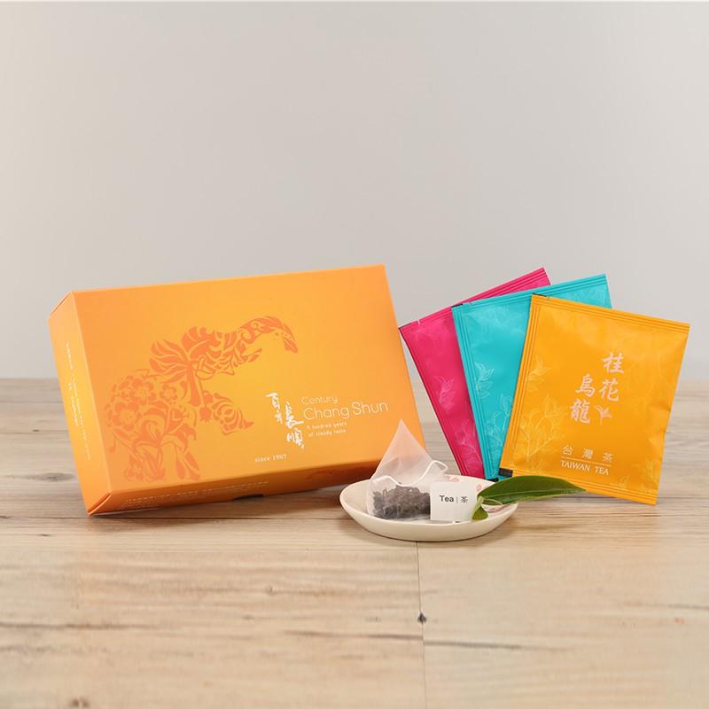 百年長順 好印象10入袋茶 三角立體茶包 茶葉 桂花烏龍 茶包 冷泡茶