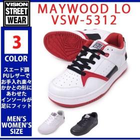 VISION STREET WEAR ヴィジョン ストリート ウェアー VSW-5312 000 Whiteホワイト 010 Blackブラック 696 White Black Redホワイト ブラック レッド MAYWOOD LO