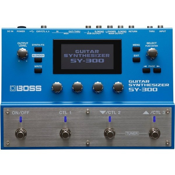 BOSS SY-300 Guitar Synthesizer 吉他 合成器 效果器[唐尼樂器]