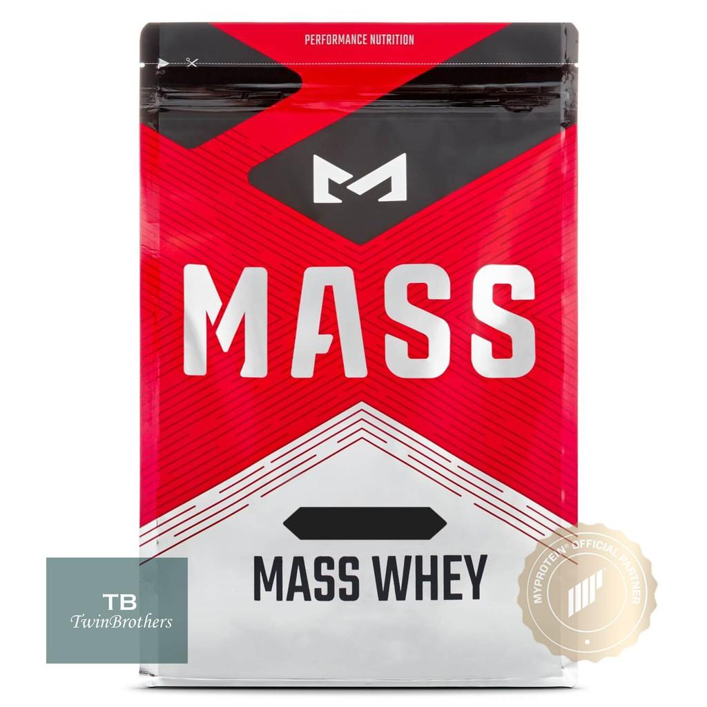 [英國Mass] 濃縮乳清蛋白 乳清 高蛋白 2.5kg/1kg Myprotein 同母公司