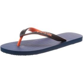 [カスタム] ビーチサンダル 軽量 (EVAフッドベッド) [ AI208-505 / Blend Base Sandal ] おしゃれ ビーサン メンズ BLU_ブルー US 27 cm
