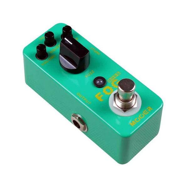 Mooer Micro Series FOG Bass Fuzz 電吉他/電貝斯 Bass Fuzz 效果器[唐尼樂器]
