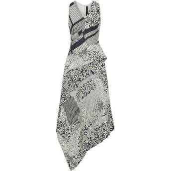 《セール開催中》ROLAND MOURET レディース ロングワンピース&ドレス ブラック 10 シルク 100%
