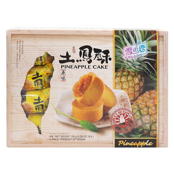 雪之戀 土鳳梨酥(10入)盒裝【小三美日】D150220