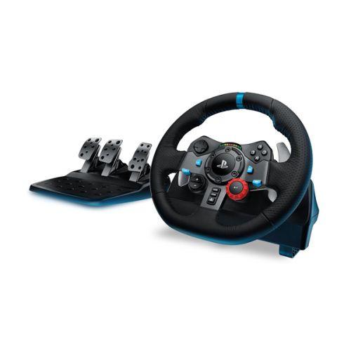 #賽車裝備 #特惠套組『 #G29賽車方向盤 + #六檔變速器 』【 logitech G29 DRIVING FORCE 賽車方向盤 】● 支援 PlayStation 3、PlayStation