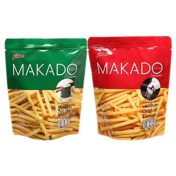 MAKADO 麥卡多薯條(27g) 鹽味/海苔【小三美日】D411093