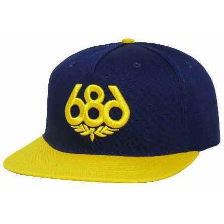 686 OG Snapback - Midnight Blue 棒球帽