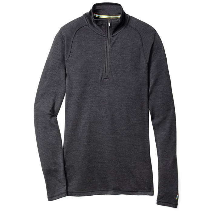 【Smartwool 美國】Merino 長袖保暖羊毛衣 機能保暖衣 運動上衣 男款 炭咖色 (SW0SS603892)