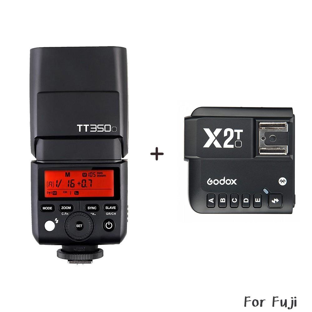 Godox 神牛 TT350F + X2T 發射器 機頂閃光燈 Fuji TT350 送柔光罩 相機專家 公司貨
