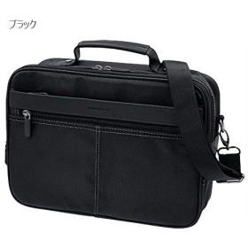 ショルダーバッグ メンズバッグ メンズファッション JOKER 使いやすい ヨコ型 ショルダー 【ブラック onesize】
