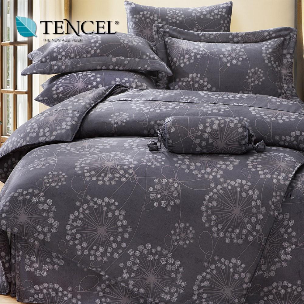 TENCEL頂級100%天絲萊賽爾 兩用被床包組(四件式)雙人/加大/特大 0213